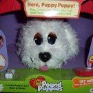 Here Puppy Puppy  Pound Puppy White