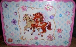 Girls Pink Pony Craft Box with Flashing Lights