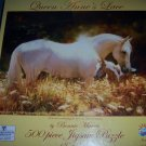 Queen Anne's Lace Horse & Foal 500 Piece Jigsaw Puzzle