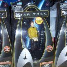 Set of 3 Star Trek Action Figures Kirk Sulu Cadet Chekov