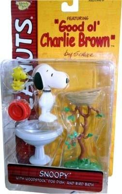 Peanuts Good Ol Charlie Brown Snoopy & Woodstock Playset