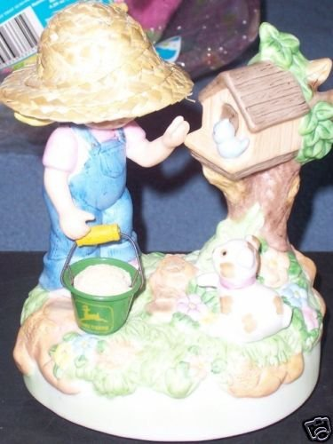 John Deere Sending You my Deerest Wishes Music Figurine