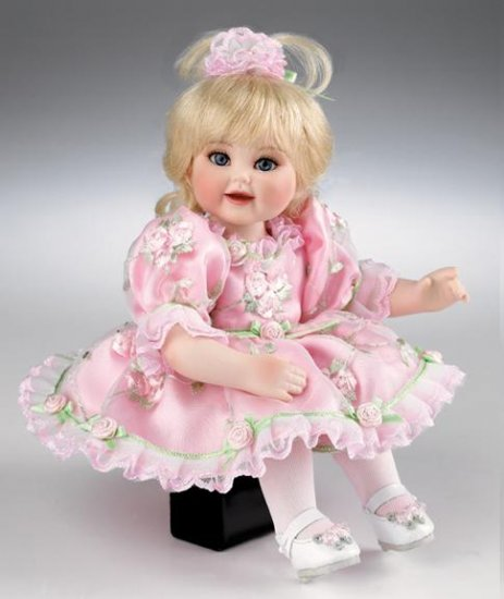 Marie Osmond Queen Elizabeth Rose Bud Tiny Tot Doll NEW
