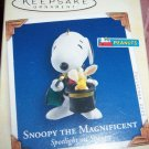 Peanuts Snoopy the Magnificent Hallmark Ornament 2005