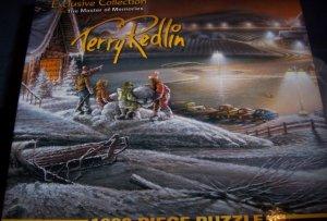 Terry Redlin 1000 Piece Puzzle Evening Star