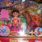 Dora Doll with Yummy Apple Horse Playset