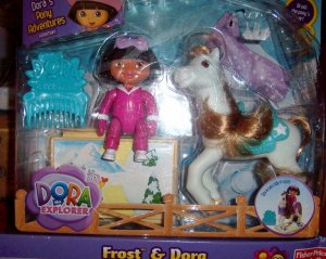 Dora Explorer Doll and Chilly Pony Frost Playset