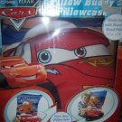 Disney Cars Pillow Buddy Pillowcase Lightning McQueen & Tow Mater