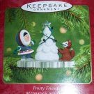 Hallmark Frosty Friends 2001 Ornament