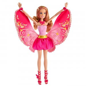 Barbie Fashion Fairy Friend A Fairy Secret Blonde Barbie Doll Twist to Change