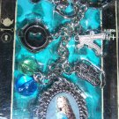 Tim Burton Disney Alice in Wonderland Alice Kingsley Keychain Keyring