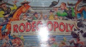 Rodeopoly Bronc Buckin Bull Ridin Property Tradin Game