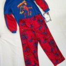 NWT SPIDERMAN - 3 TWO - PIECE PAJAMA SET SIZE 10