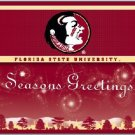 NIB NEW FLORIDA STATE SEMINOLES BOXED HOLIDAY CARDS 21