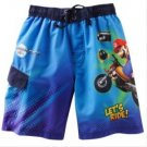 NEW NWT Wii MARIO KART BOYS SWIM TRUNKS SIZE 4