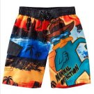 NEW NWT PHINEAS & FERB PERRY THE PLATYPUS BOYS SWIM TRUNKS SIZE 6