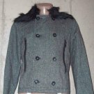 BRAND NEW Gray/Black Luxemburg Short Jacket (L) H896