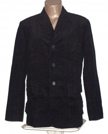 BRAND NEW Black Ascot Corduroy Blazer (XL) IA110