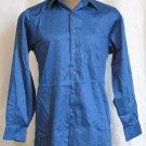 BRAND NEW Geoffrey Beene Blue L/S Shirt 14.5 32/33 #0834