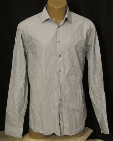 BRAND NEW Gray Calvin Klein L/S Shirt 17.5 36/37 #1030