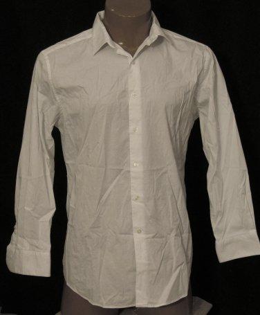 BRAND NEW White Alfani L/S Shirt 16.5 32/33 #1032