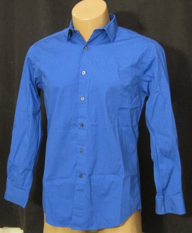 BRAND NEW Alfani L/S Blue Shirt 15.5 32/33 #1241