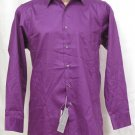 BRAND NEW Geoffrey Beene Grape L/S Shirt 15.0 32/33 #0800