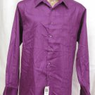 BRAND NEW Geoffrey Beene Purple L/S Shirt 17.5 34/35 #0798