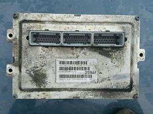 2001 Dodge Ram 3500 VAN 5.9 V8 AT ECU Engine Computer P56040259AF 259AF