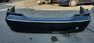 2003 2004 2005 2006 E E320 E500 CLASS REAR BUMPER GENUINE FACTORY OEM black