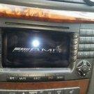 MERCEDES BENZ W211 E500 OEM RADIO STEREO GPS NAVIGATION NAVI NAV DVD CD PLAYER