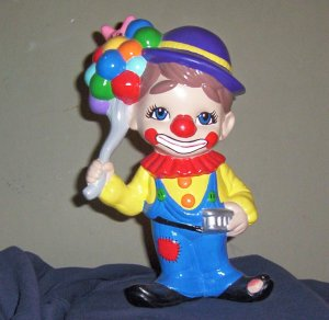 COLORFUL CLOWN DECORATION FOR BABY'S ROOM 12""