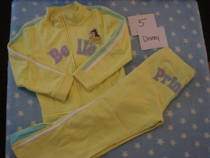 Disney belle outfit sz 5 **Hold for tishy girl**