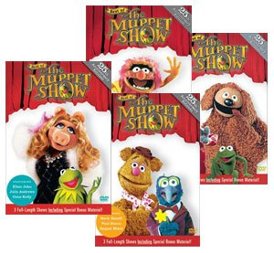 BEST OF THE MUPPET SHOW 25TH ANNIVERSARY - RARE 15 DVD COMPLETE Brand NEW Sealed