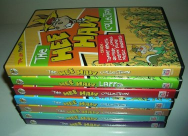 HEE HAW 7 DVD COLLECTION Endless Laughs - Buck Owens, Roy Clark  OOP BRAND NEW