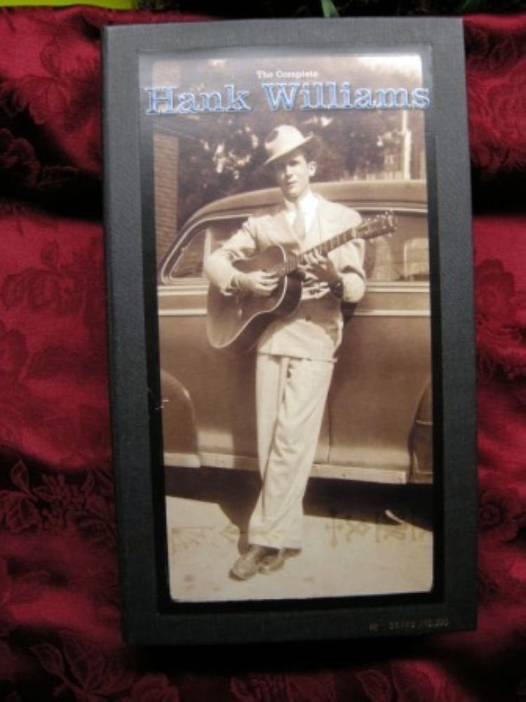 THE COMPLETE HANK WILLIAMS - 10 CD - COLLECTOR BOXSET - MSRP $175 - RARE and OOP