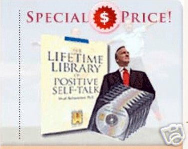 POSITIVE SELF TALK LIFETIME LIBRARY 8CD SHAD HELMSTETTER NLP HYPNOSIS MSRP $399