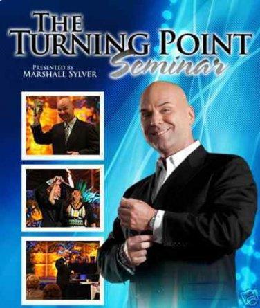 MARSHALL SYLVER TURNING POINT SEMINAR CD/DVD PKGE HYPNOSIS SELF TALK MSRP $1,000