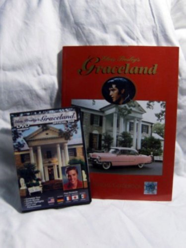 ELVIS PRESLEY GRACELAND OFFICIAL HOME TOUR DVD + COLLECTOR SOUVENIER BOOK - $100