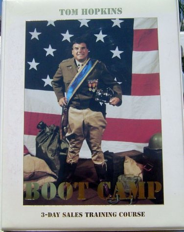TOM HOPKINS BOOT CAMP 3-DAY SALES MASTERY SEMINAR  ORIG $225 - OUT OF PRINT RARE
