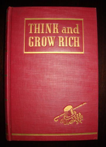 THINK AND GROW RICH  1945 EDITION+14 Audio Tapes COLLECTOR CLASSIC NAPOLEON HILL