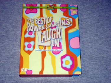 THE BEST Of ROWAN & MARTIN'S LAUGH-IN (3 DVD) 60s TV COMEDY AT ITS BEST Rare NEW