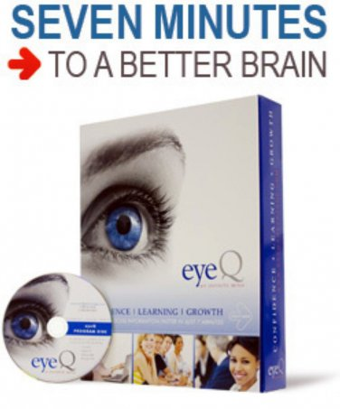 EYEQ Infinite Mind SPEED READING BRAIN ENHANCEMENT EYE Q NEW EDITION $249  WIN 7