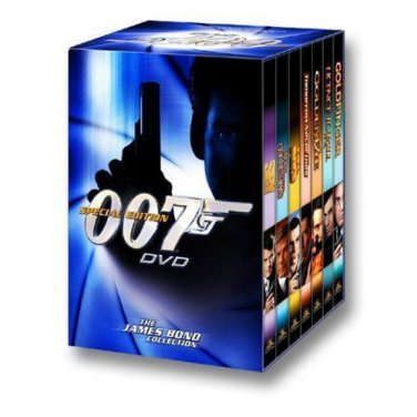 JAMES BOND SPECIAL EDITION - 7 DVD Gift Set  - VOL. 1 - BRAND NEW and SEALED OOP