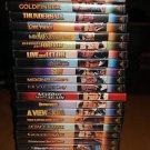 JAMES BOND SPECIAL EDITION - 22 DVD COLLECTION with ALL THE EXTRA FEATURES - OOP