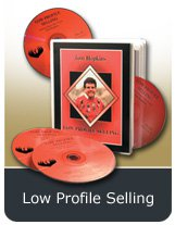 TOM HOPKINS - LOW PROFILE SELLING 4 CD SALES - ACT LIKE A LAMB, SELL LIKE A LION