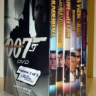 James Bond Collection - Special Edition - 6 DVD - VOL. 3 - BRAND NEW and SEALED