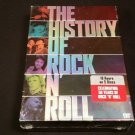 The History of Rock N' Roll - Boxed Set (DVD, 2004, 5-Disc Set) BRAND NEW SEALED