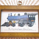 Vintage 999 Empire State Express Train Framed Print Speed Queen New York Central