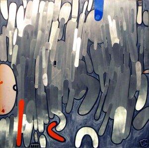 Modern  Abstract Wall Sculpture Metal Art  GLY7